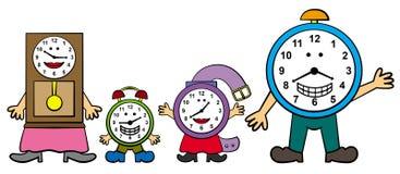 rodzinny czas ilustracja wektor