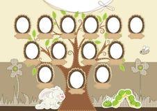 rodzinny drzewo ilustracja wektor