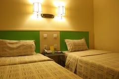 rodzinny hotel Obrazy Royalty Free