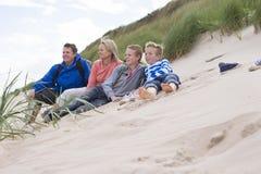 Rodzinny odpoczynkowy czas Fotografia Royalty Free