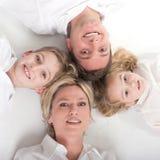 Rodzinny okrąg Obrazy Royalty Free