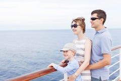 Rodzinny pływać statkiem fotografia royalty free
