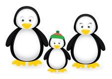rodzinny pingwin Obraz Royalty Free