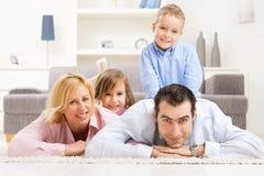 rodzinny portret Obrazy Stock
