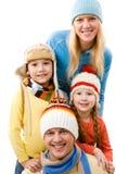 rodzinny portret Zdjęcie Stock