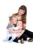 rodzinny portret obrazy royalty free