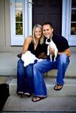 rodzinny portret Zdjęcie Royalty Free