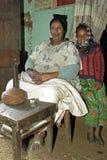 Rodzinny portret babcia i wnuk zdjęcie royalty free