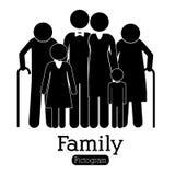 Rodzinny projekt ilustracji
