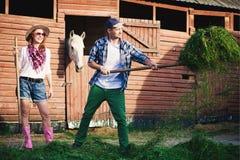 Rodzinny rancho Zdjęcia Royalty Free