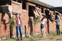 Rodzinny rancho Obrazy Stock