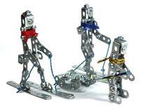 rodzinny robot Obraz Royalty Free
