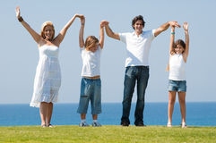 rodzinny rodzinna zabawa zdjęcie royalty free