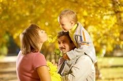 rodzinny spacer Zdjęcie Stock