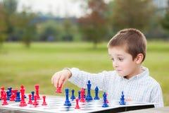 Rodzinny szachy Obraz Royalty Free