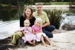 rodzinny szczęśliwy Fotografia Stock