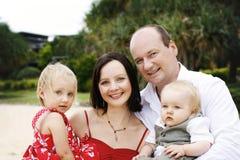 rodzinny szczęśliwy Fotografia Royalty Free