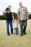 rodzinny szczęśliwy Zdjęcie Stock