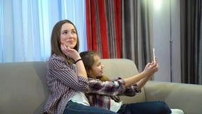 Rodzinny szczęśliwy momentu czasu wolnego selfie styl życia obrazy royalty free