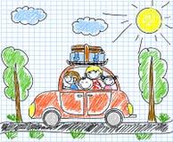 rodzinny szczęśliwy wektor ilustracja wektor