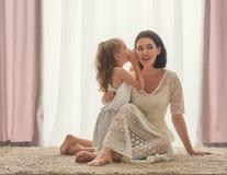 rodzinny szczęśliwy target2231_0_ Fotografia Stock