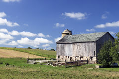 rodzinny target2028_0_ gospodarstw rolnych Zdjęcia Stock