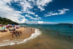 Rodzinny typ plaża Fotografia Stock