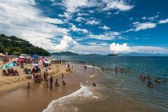 Rodzinny typ plaża Obraz Stock