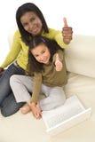 rodzinny uczenie Obraz Stock