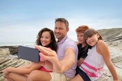 rodzinny wakacje Zdjęcie Stock