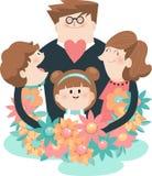 Rodzinny wydarzenie A Obraz Royalty Free