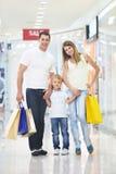 rodzinny zakupy Zdjęcia Royalty Free