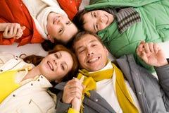 rodzinny zjednoczenie zdjęcia stock