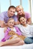 rodzinny zwierzę domowe fotografia stock
