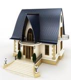 Rodziny domu model Ilustracja Wektor