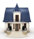 Rodziny domu model Ilustracji