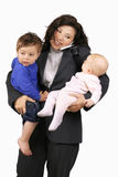 rodziny kariery żonglować Obraz Royalty Free
