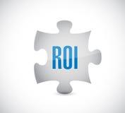 Roe puzzle piece illustration design Stock Photo
