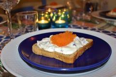 Roe toast Royalty Free Stock Photos