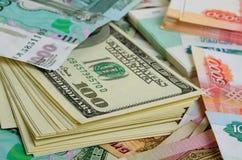 Roebel-dollar Ñ  urrencyspeculatie Royalty-vrije Stock Foto