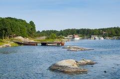 Roedloga Stockholm archipelago Royalty Free Stock Photos