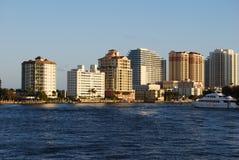 Roeien in Fort Lauderdale Stock Afbeeldingen