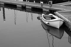 Roeiende boot Royalty-vrije Stock Foto's