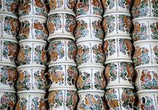Roemeens aardewerk Stock Afbeeldingen
