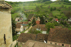 Roemeens dorp Royalty-vrije Stock Foto