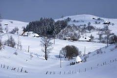 Roemeens dorp Royalty-vrije Stock Afbeelding