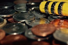 Roemeens geld Royalty-vrije Stock Foto's