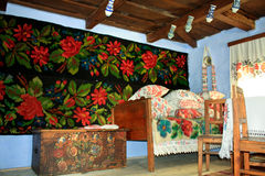 Roemeens huis royalty-vrije stock foto's