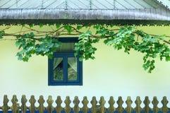 Roemeens huis stock afbeelding
