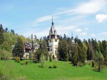 Roemeens kasteel royalty-vrije stock afbeeldingen